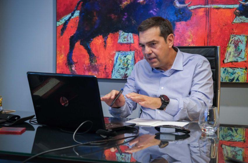 Τσίπρας σε παραγωγικούς φορείς: New Deal για την απομείωση του ιδιωτικού χρέους της κρίσης –  Το click away εμπαιγμός για την πλειοψηφία των επιχειρήσεων