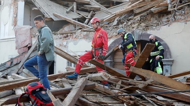 Κροατία: Εικόνες χάους μετά τον σεισμό- Τουλάχιστον 7 νεκροί