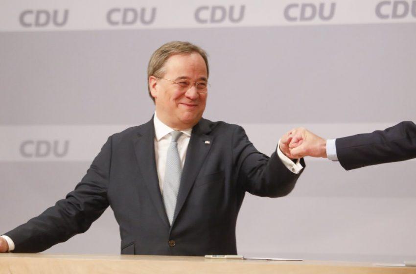 Ο Άρμιν Λάσετ νέος αρχηγός των Χριστιανοδημοκρατών της Γερμανίας