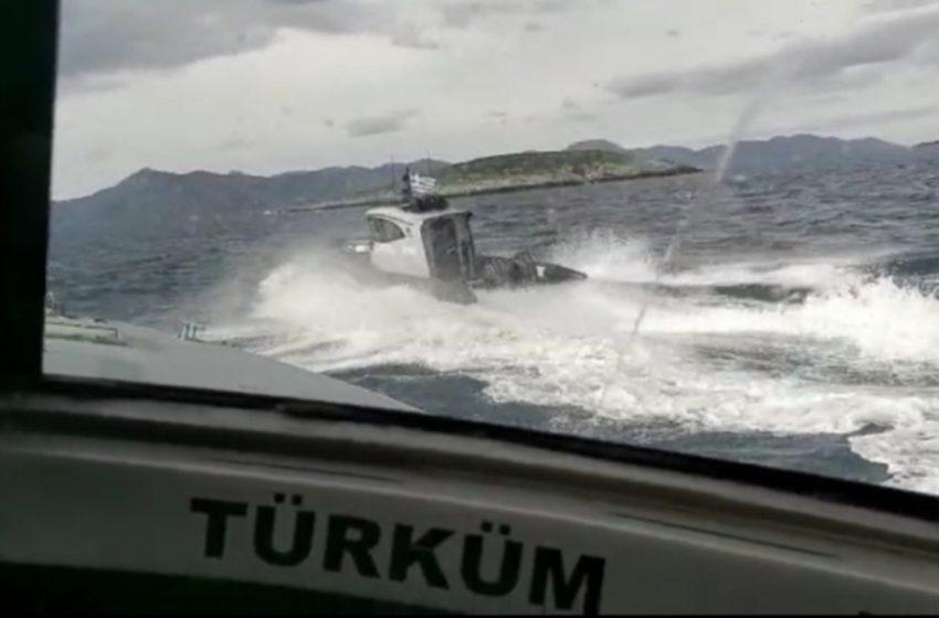 Ίμια: Τι συνέβη με την τουρκική ακταιωρό – Η ανακοίνωση του Λιμενικού