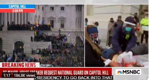 CNN: Υπάρχει τραυματίας στο Καπιτώλιο (vid)