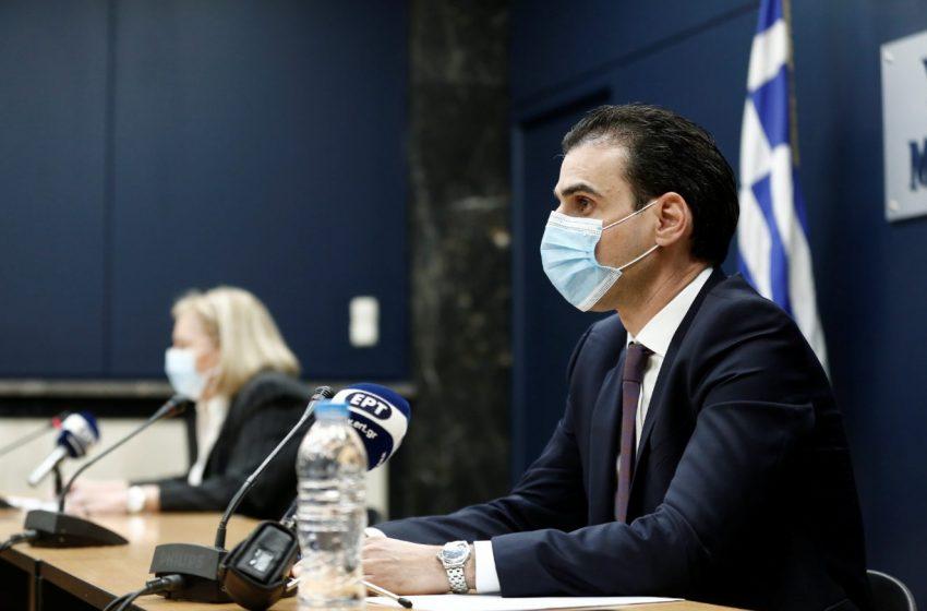 Θεμιστοκλέους: 120.000 πολίτες έχουν εμβολιαστεί με τρίτη δόση και άλλοι 50.000 έχουν κλείσει ραντεβού