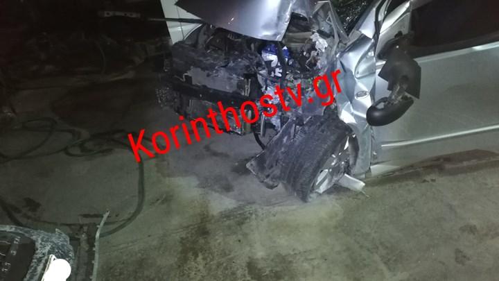 Τραγωδία στην Κόρινθο – Νεκρή 30χρονη σε τροχαίο (εικόνες)