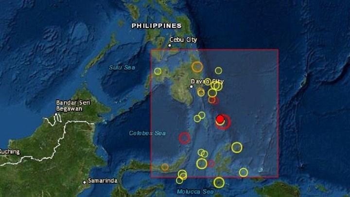 Σεισμός 7,1 Ρίχτερ κοντά στις Φιλιππίνες