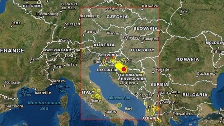 Νέος σεισμός 5,3 Ρίχτερ στην Κροατία