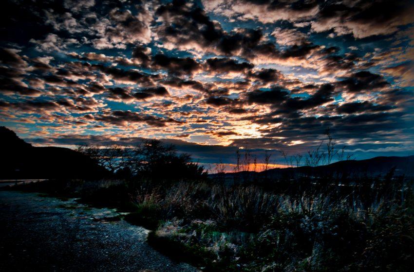 Ηλιοβασίλεμα στη Γαβρολίμνη