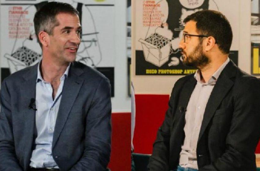 N.Ηλιόπουλος: Απόλυτα καταδικαστέο το πανό που προσβάλει τη μνήμη του Παύλου Μπακογιάννη