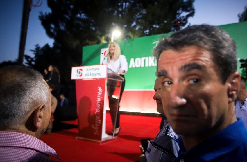 """Παρασκήνιο: Γιατί η Φώφη Γεννηματά """"καθαίρεσε"""" τώρα τον Ανδρέα Λοβέρδο"""