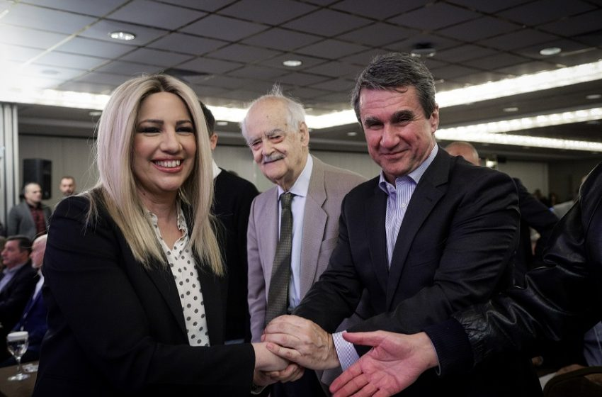 """Η Γεννηματά """"έκοψε"""" τον Λοβέρδο από κοινοβουλευτικό εκπρόσωπο του ΚΙΝΑΛ"""