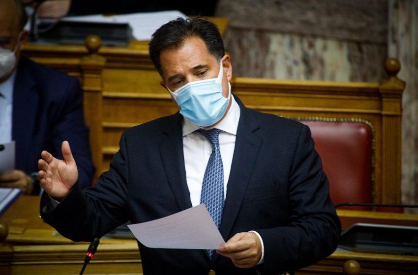 Γεωργιάδης σε ανεμβολίαστους: Δεν θα μπορείτε να πάτε πουθενά