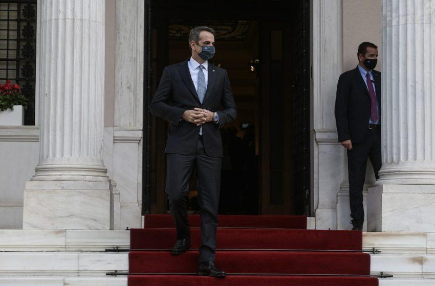 Συναντήσεις με τους πρωθυπουργούς της Ισπανίας και της Σλοβενίας τη Δευτέρα ο Μητσοτάκης