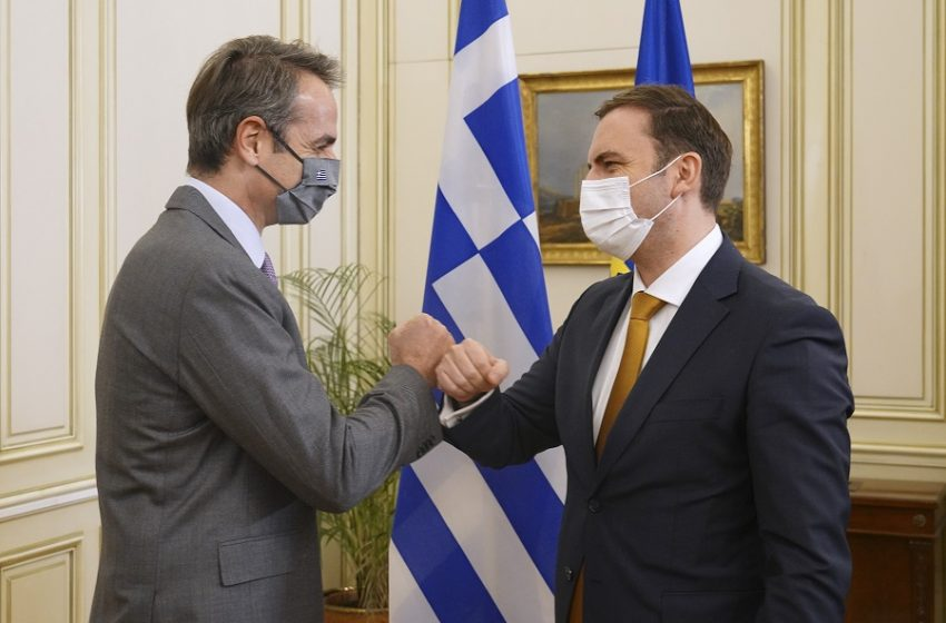 Συνάντηση Μητσοτάκη με Οσμάνι – ΣΥΡΙΖΑ: Με το καλό να φέρει και προς κύρωση επιτέλους τις διμερείς συμφωνίες στη Βουλή