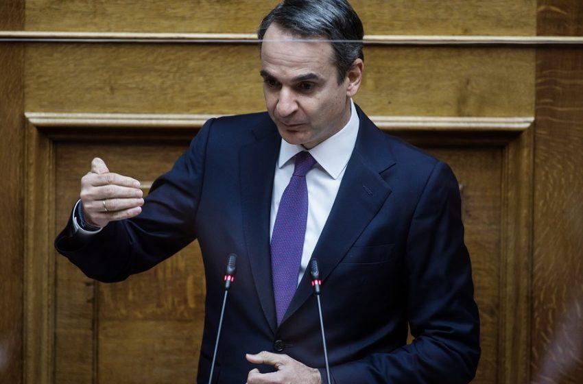 Αύξηση προστίμων, επέκταση μέτρων – Τι εξήγγειλε στη Βουλή ο Κυρ. Μητσοτάκης
