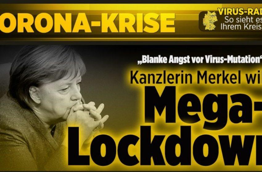 Bild:H Μέρκελ ετοιμάζεται για… Mega-lockdown – Βάζει λουκέτο στις δημόσιες συγκοινωνίες