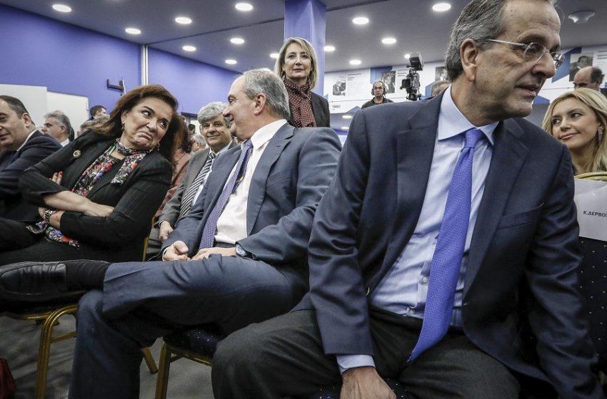 """Κλίμα πίεσης στη ΝΔ ενόψει μνημονίων με τη Β. Μακεδονία – Ντόρα εναντίον Σαμαρά και στην μέση ο Μητσοτάκης – Ο ρόλος των """"καραμανλικών"""""""