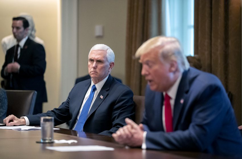 Πρώτη συνάντηση Τραμπ – Πενς μετά την εισβολή ακροδεξιών στο Καπιτώλιο – Τι συζήτησαν