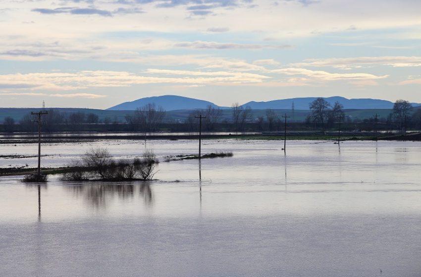 """""""Βούλιαξαν"""" Έβρος και Ροδόπη – Λυκουρέντζος: Πλημμυρισμένα 110.000 στρέμματα"""