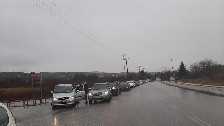 Κοζάνη: Διαμαρτυρία με αυτοκινητοπομπή από εμπόρους-επαγγελματίες