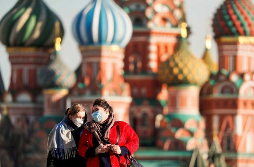 Ρωσία: Αριθμός-ρεκόρ θανάτων από κοροναϊό για δεύτερο συνεχόμενο 24ωρο