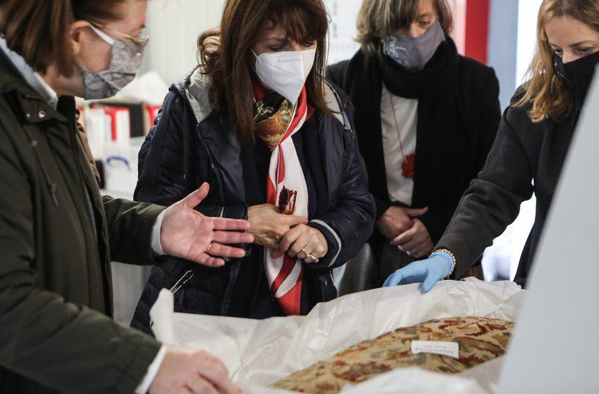 Σακελλαροπούλου: Το κτήμα Τατοΐου να αποδοθεί στους πολίτες ως χώρος γνώσης και αναψυχής