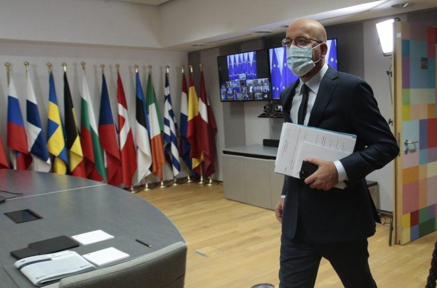 """Σύνοδος Κορυφής: Επιστολή Μισέλ στους Ευρωπαίους ηγέτες – """"Το πιεστικό ζήτημα είναι τα εμβόλια, θα συζητήσουμε και το θέμα των πιστοποιητικών"""""""