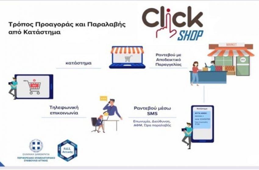 Τι είναι η μέθοδος «click in shop»