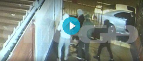Βίντεο ντοκουμέντο με τη δράση της συμμορίας ανηλίκων με τις βαριοπούλες (vid)