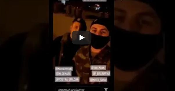 Σάλος στο στράτευμα: Βίντεο δείχνει δύο νεαρούς που μιλούν αλβανικά να δίνουν εντολές σε έλληνες στρατιώτες (vid)