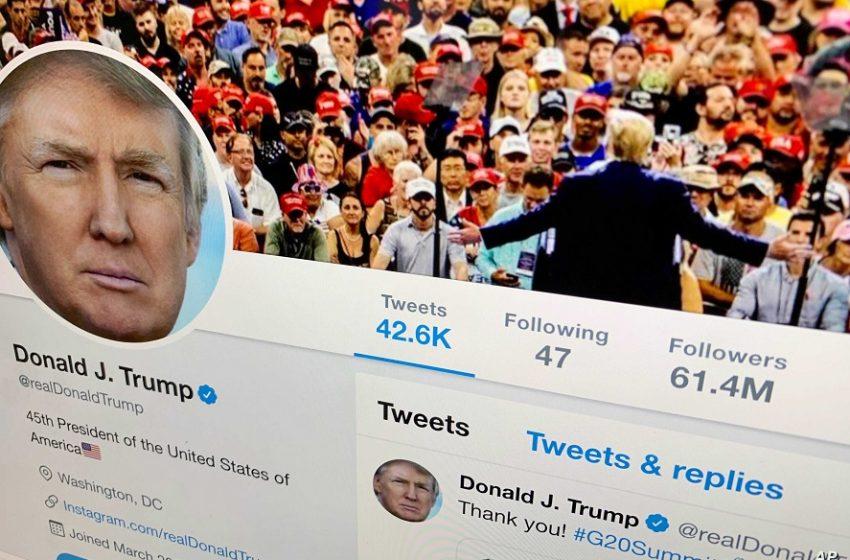 Μόνιμο μπλοκ στον Τραμπ από το twitter