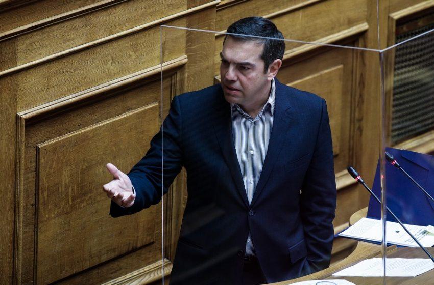 Τσίπρας: Καλωσορίζουμε τη ΝΔ στη στρατηγική επιλογή του ΣΥΡΙΖΑ την οποία λοιδορούσατε – Η αναξιοπιστία είναι η δεύτερη φύση σας