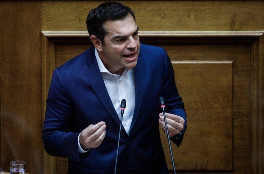 """Τσίπρας: """"Είστε ανεύθυνος πρωθυπουργός- Οι νεκροί δεν είναι στατιστική"""""""