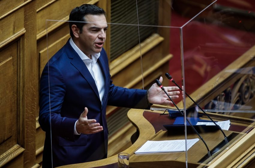 Αλ. Τσίπρας: Κύρια ευθύνη στην κυβέρνηση και τον Κυρ. Μητσοτάκη για τον πολύ υψηλό αριθμό των ανθρώπινων απωλειών (vid)