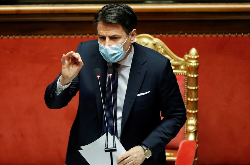 Παραιτείται ο Κόντε- Προσπάθεια για σχηματισμό κυβέρνησης ευρείας στήριξης