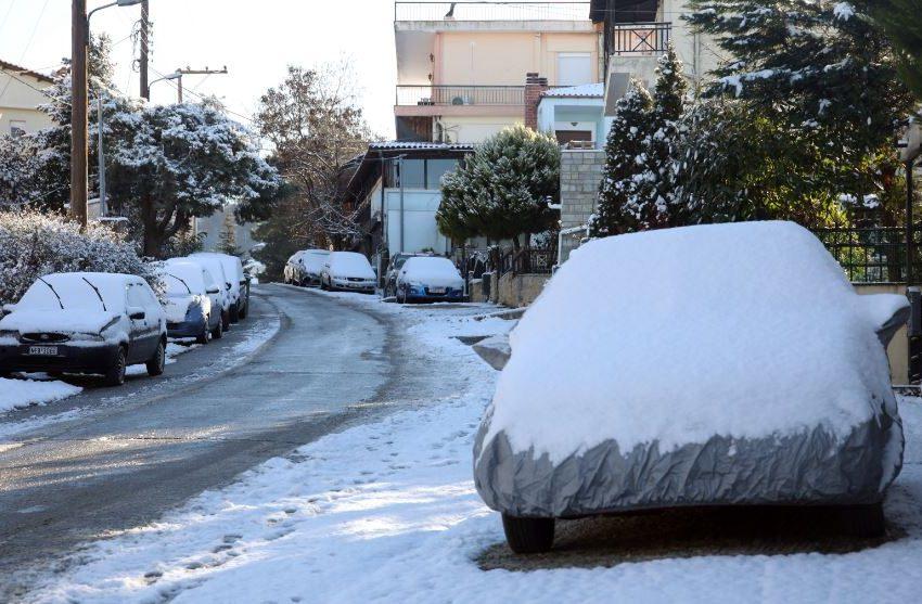 """""""Λέανδρος"""": Σε ποια σημεία πρέπει να προσέχουν οι οδηγοί λόγω παγετού στη Βόρεια Ελλάδα"""