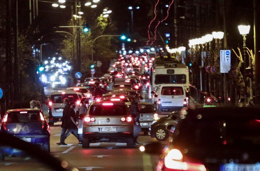 Aύξηση 100% στην κίνηση στους δρόμους της Αττικής σε σχέση με το lockdown τον περασμένο Μάρτιο