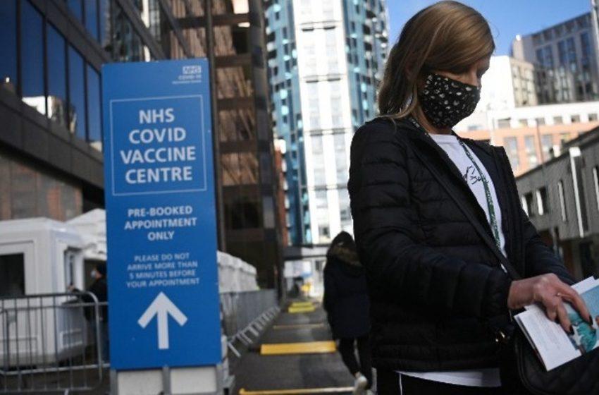 Στην Βρετανία εμβολιάστηκαν ήδη 10 εκατ. άνθρωποι