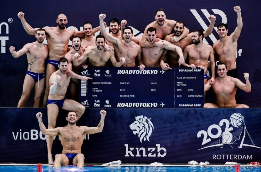 To θαύμα της Εθνικής ομάδας πόλο: Για 11η διαδοχική φορά σε Ολυμπιακούς Αγώνες