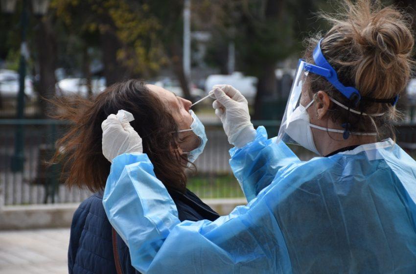 Κοροναϊός:1327 κρούσματα,22 νεκροί και 281 διασωληνωμένοι