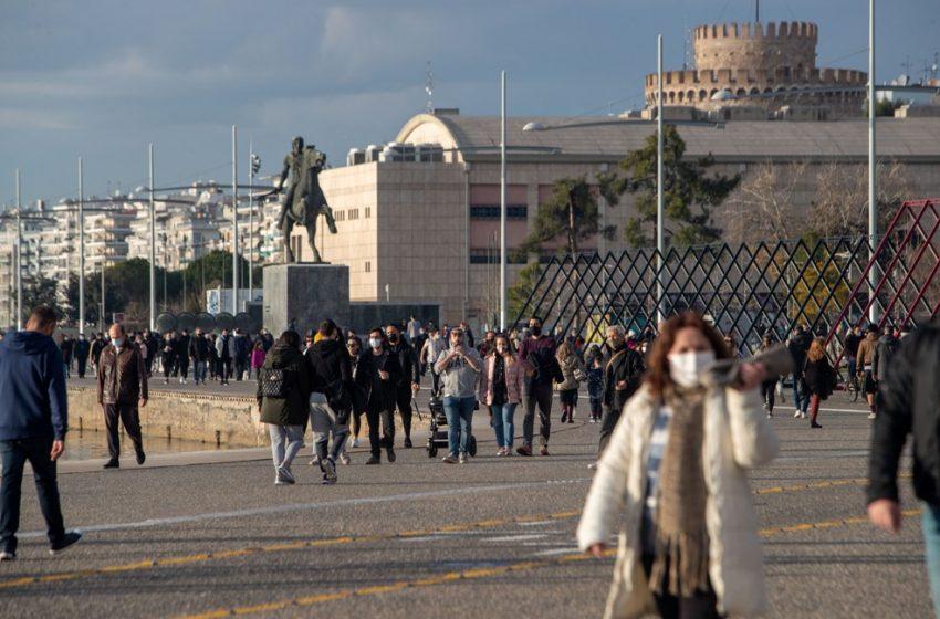 """Εισήγηση λοιμωξιολόγων: Στο """"κόκκινο"""" πάλι η Θεσσαλονίκη"""