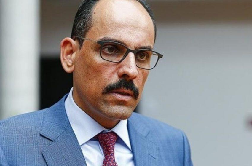 Καλίν:  Η Τουρκία δεν κάνει πίσω στο θέμα των S-400. Παρανοήθηκε η δήλωση του Ακάρ