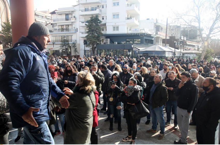 Οργή στον Εύοσμο για το lockdown: Νέα συγκέντρωση διαμαρτυρίας των κατοίκων