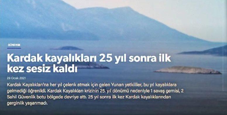 Ίμια: Η Yeni Safak πανηγυρίζει επειδή δεν τιμήσαμε τους πεσόντες