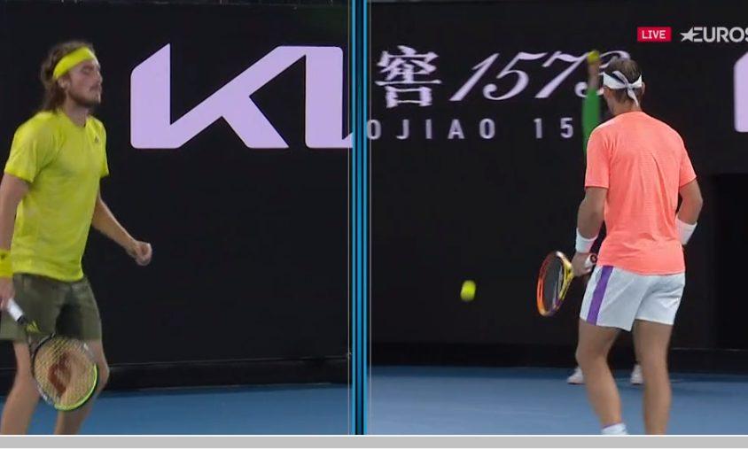 Australian Open: Ανατροπή από Τσιτσιπά – Ισοφάρισε 2-2 τον Ναδάλ