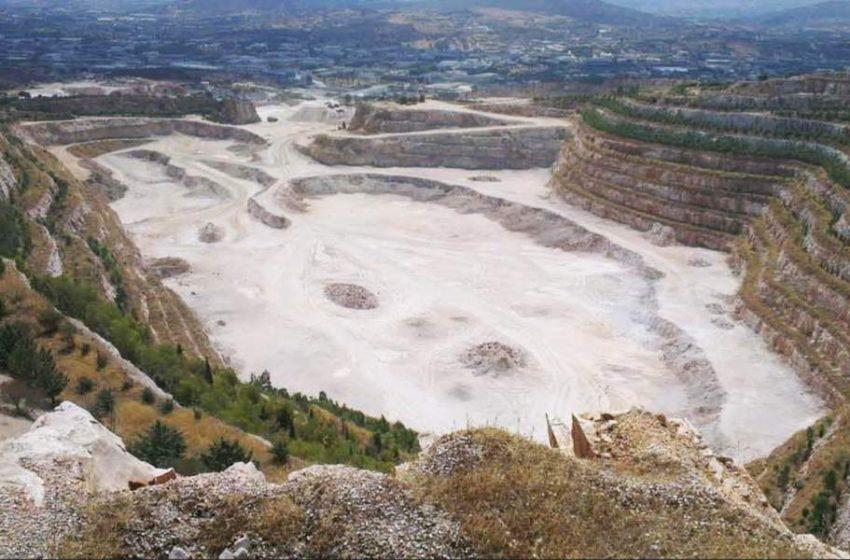 """Ξεκίνησε η περιβαλλοντική αποκατάσταση του λατομείου """"Κυριακού"""" στο Κορωπί"""