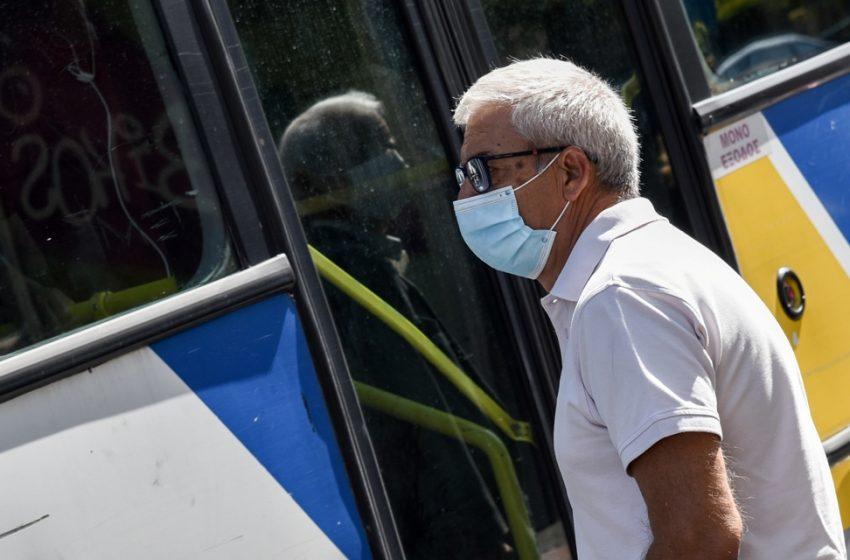 Έρχεται ισχυρή σύσταση για διπλή μάσκα από τους ειδικούς σε σούπερ μάρκετ και Μέσα Μαζικής Μεταφοράς