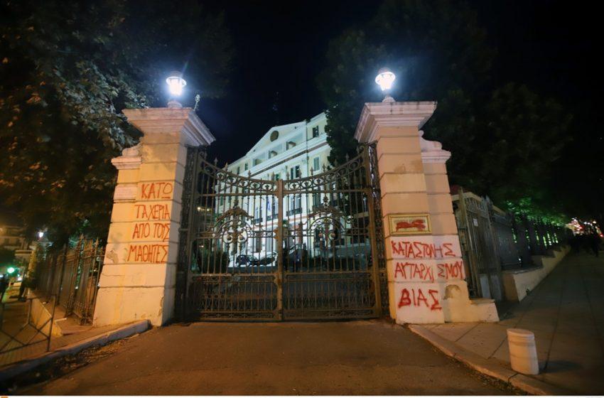 Εκρηκτικός μηχανισμός στο υπ.Μακεδονίας Θράκης δεν εξερράγη από τύχη