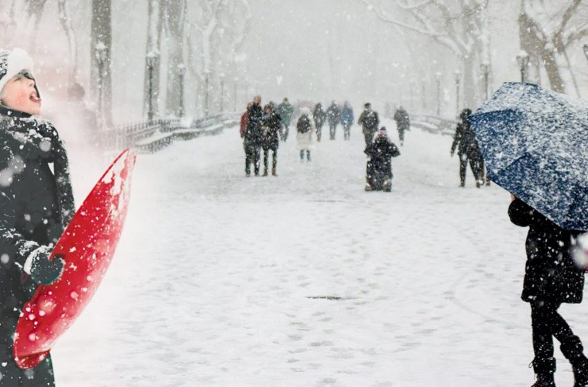 """Η εισβολή της """"Μήδειας""""- Οι """"λευκές"""" περιοχές- Χιόνια στην Αθήνα"""