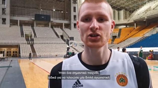 Άαρον Γουάιτ στον ΟΠΑΠ: Θα παίξουμε και για τον Νέντοβιτς