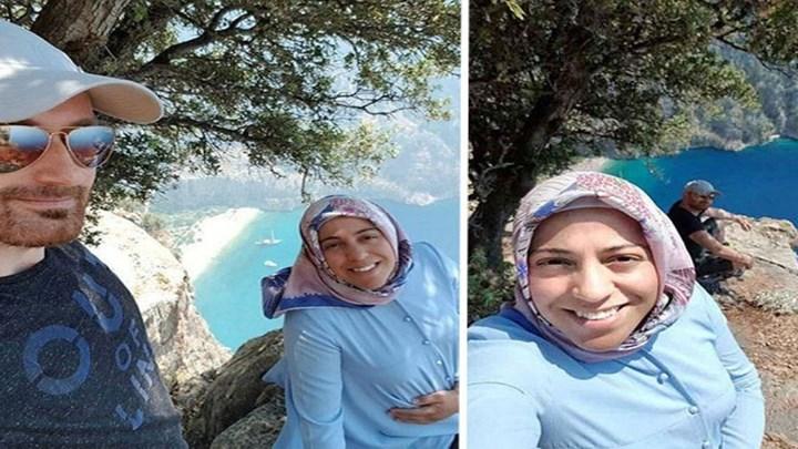 ΣΟΚ: Τούρκος έβγαλε selfie με την έγκυο σύζυγό του και την έσπρωξε στον γκρεμό (vid)