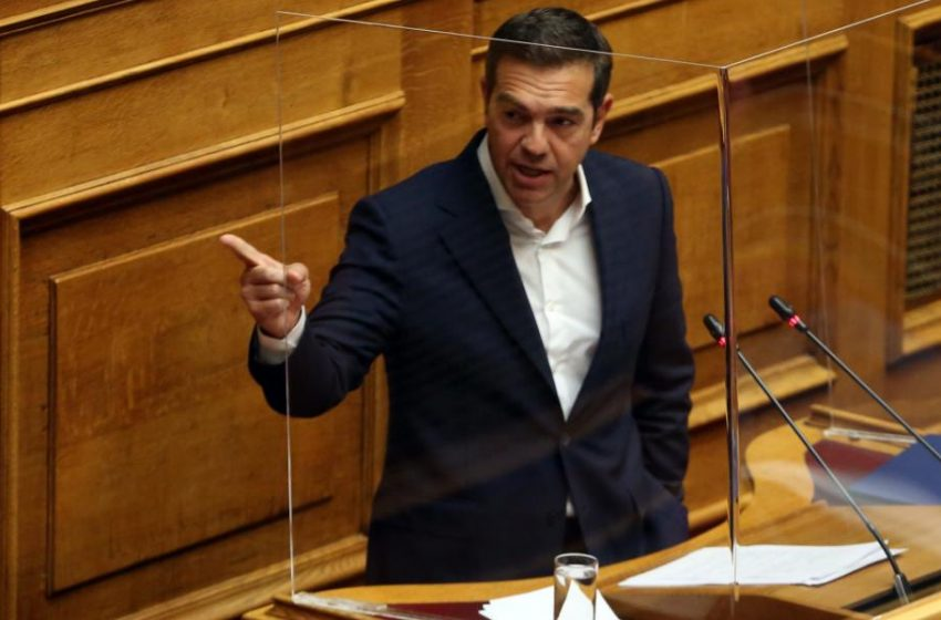 Παρέμβαση Τσίπρα στη Βουλή: Να ανασταλεί η συζήτηση για το ν/σ Κεραμέως- Επίθεση για Ικαρία και ΕΡΤ